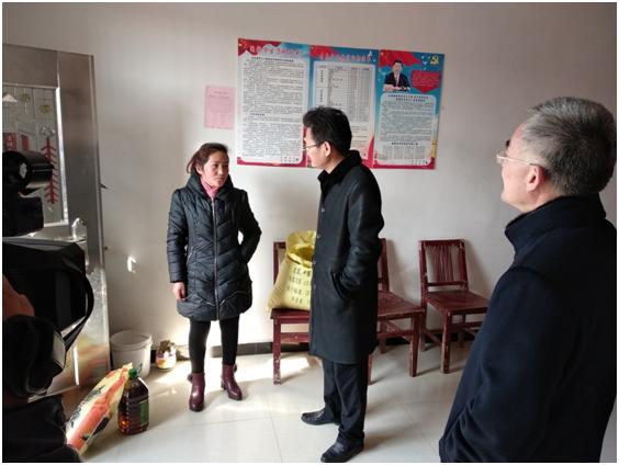 省委会赴寿县谭套村开展送文化 下乡、农技培训和扶贫慰问等活动